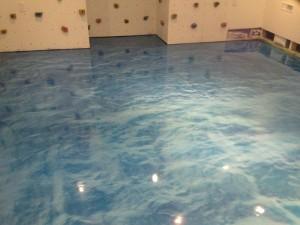 Pool Floor