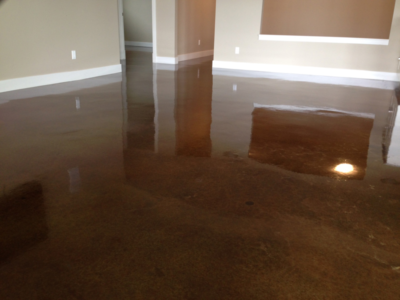 these concrete floors can even be heated providing not only a pleasant