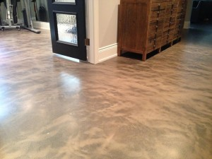 Hardscapes Inc. concrete floor.