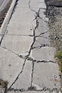 Sunken Walkway