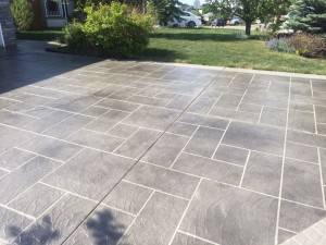 Driveway overlay and concrete restoration, Hardscapes Inc.