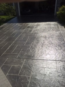 Concrete restoration & overlay, Hardscapes Inc.