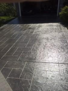 Concrete restoration & overlay, Hardscapes Inc.