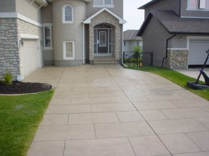 Hardscapes Stamped Driveway