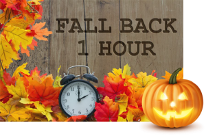 Time to turn the clocks back.