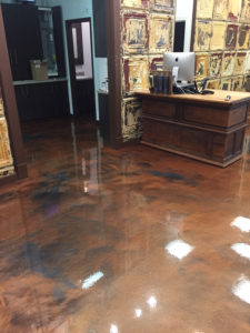 Hardscapes Inc Concrete Floor Barber Shop
